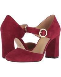 a90e7782bbff Lyst - MICHAEL Michael Kors Alana Pump (women) in Red