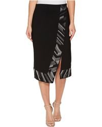 NIC+ZOE - Trimmed Time Skirt - Lyst