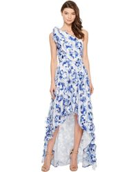Nicole Miller - Fringe Fabulous Cecily High-low Gown - Lyst