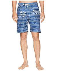 fbc6581a94 Tommy Bahama - Baja Satillo Stripe Swim Trunk (ocean Deep) Swimwear - Lyst