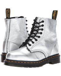 Dr. Martens | Pascal Metallic 8-eye Boot | Lyst