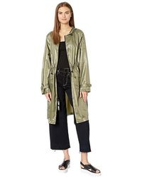 fba9c99cc2a4 Juicy Couture - Long Nylon Duster (dusty Olive) Clothing - Lyst