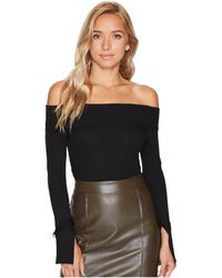 Bishop + Young | Shawna Off The Shoulder Top | Lyst