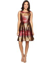 RSVP - Millington Metallic Brocade Dress - Lyst