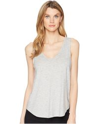 Lilla P - V-neck Tank Top - Lyst