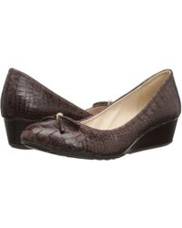 Cole Haan - Tali Grand Lace Wedge 40 - Lyst