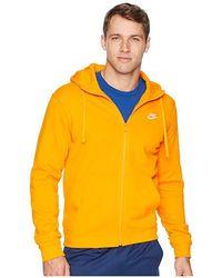 a735999f1 Nike - Club Fleece Full-zip Hoodie (orange Peel/orange Peel/white