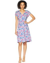 Joules - Finola Jersey Dress With Elasticated Waist - Lyst