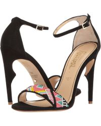 Jerome C. Rousseau - Malibu Beaded Ankle Strapped Heel - Lyst