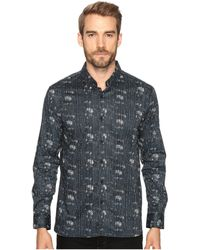 7 Diamonds - Etched Out Long Sleeve Shirt - Lyst
