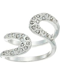 Guess - Pave Loop Wrap Ring - Lyst