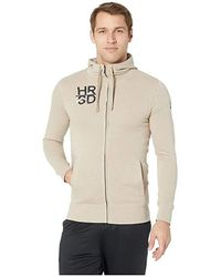 343c4321684b Reebok - Ufc Fg Full Zip Hoodie (light Gray Heather/sand) Clothing -