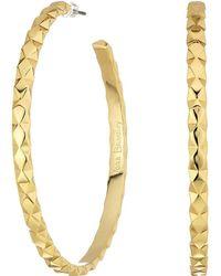 Vera Bradley - Chic Elements Large Hoop Earrings - Lyst