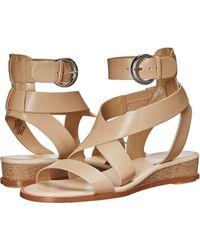 Nine West - Velope Leather Sandal - Lyst