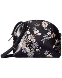 79a3f5606 Kate Spade - Cameron Street Floral Large Hilli (navy) Handbags - Lyst