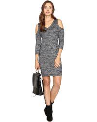 Kensie - Space Dye Jersey Dress Ksdk7418 - Lyst
