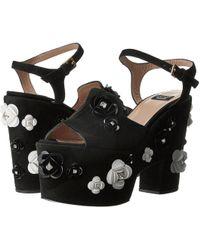 Boutique Moschino - Embellished Platform Sandal - Lyst