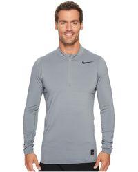 Nike - Pro Warm 1/4-zip Top - Lyst