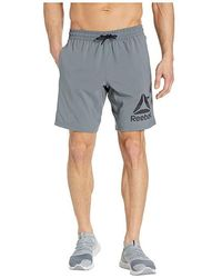 d8eae0fe960 Reebok Mesh Workout Short in Blue for Men - Lyst