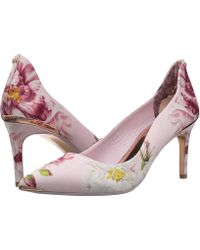 df5d789b1d4 Lyst - Ted Baker Viyxinp 2 (pink Iguazu) Women s Shoes in Pink