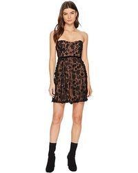 9b7ac582d99e For Love & Lemons - Beatrice Strappy Mini Dress (black) Dress - Lyst