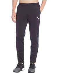 eb6572cdae8a Lyst - PUMA Tec Sports Pants in Black for Men