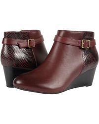 Vionic - Elevated Shasta Wedge Boot - Lyst