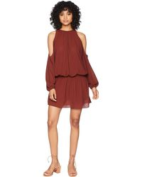 Bishop + Young - Dropwaist Mini Dress - Lyst