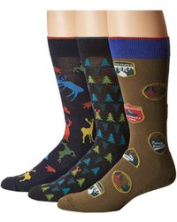 Hue - Big Buck Socks With Half Cushion 3-pack - Lyst