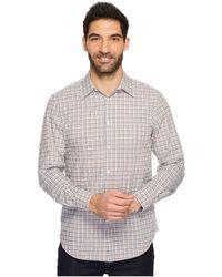 Perry Ellis - Long Sleeve Multicolor Check Shirt - Lyst