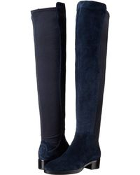 8b9cf65cc5d Lyst - Tory Burch Caitlin Stretch Knee-high Boots in Black