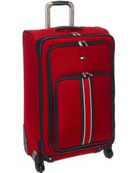 """Tommy Hilfiger - Signature Solid 24"""" Upright Suitcase - Lyst"""