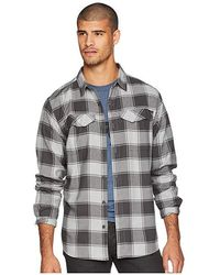09d4dd79119 Levi's Palena Brushed Long Sleeve Flannel in Metallic for Men - Lyst
