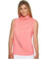 Jamie Sadock - High Neck Sleeveless Top - Lyst