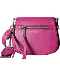 Marc Jacobs | Recruit Small Saddle Bag | Lyst