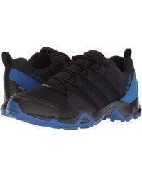 lyst adidas originali terrex swift r gtx scarpa in nero per gli uomini.