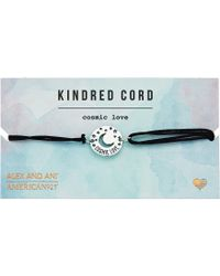 ALEX AND ANI - Cosmic Love Kindred Cord Bracelet - Lyst