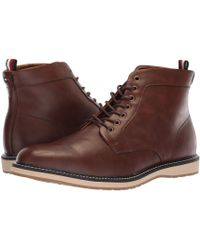 19be057bf45e Lyst - Tommy Hilfiger Adolfo Dark Brown Boot 8 Men Us in Brown for Men