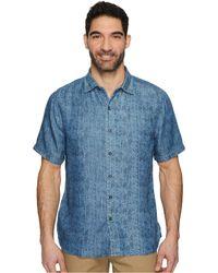 b4f3f2175 Lyst - Tommy Bahama Party Breezer Linen Short Sleeve Modern Fit ...