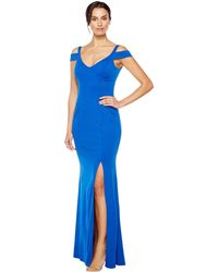 Adrianna Papell | Modified Jersey Mermaid Gown | Lyst