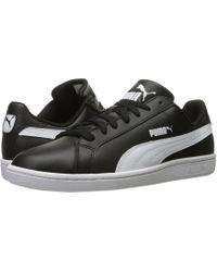Lyst - Puma Smash Suede Men s Sneakers in Black for Men f39420621