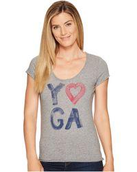 Life Is Good. - Yoga Heart Smooth Tee - Lyst