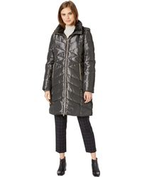 Jessica Simpson - Long Puffer W/ Hood - Lyst