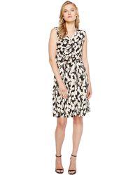 Ellen Tracy - Twist Front Dress - Lyst