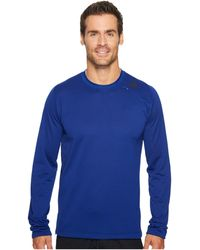 a9f4b720 adidas - Athlete Id Long Sleeve Cover-up (mystery Ink) Long Sleeve Pullover