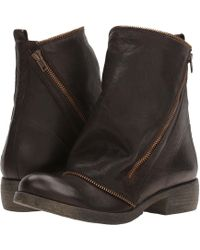 Massimo Matteo - Low Boot With Zipper - Lyst