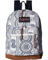 bea38770d4d4 Jansport - Right Pack Expressions (white Swedish Lace) Backpack Bags - Lyst