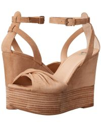 Joe's Jeans - Vassar Wedge Sandal - Lyst