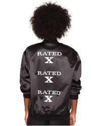 Jeremy Scott - Rated X Long Jacket - Lyst