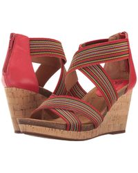 Söfft - Cary Criss-cross Banded Wedges - Lyst